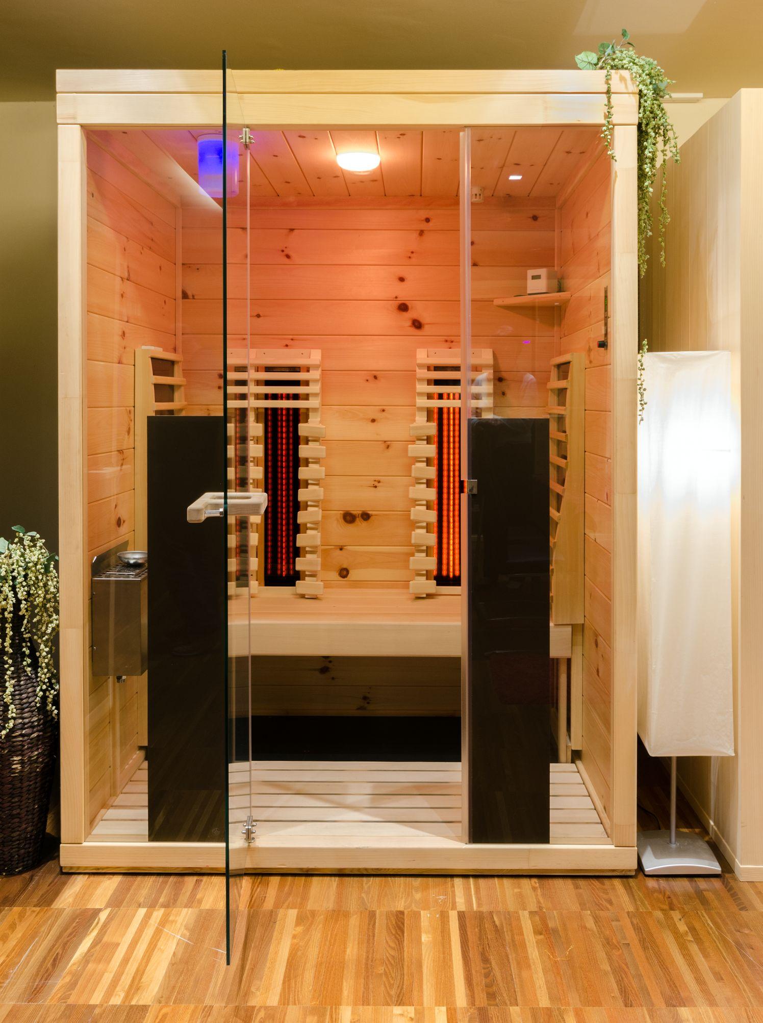 infrarot wirkung heimatsauna. Black Bedroom Furniture Sets. Home Design Ideas